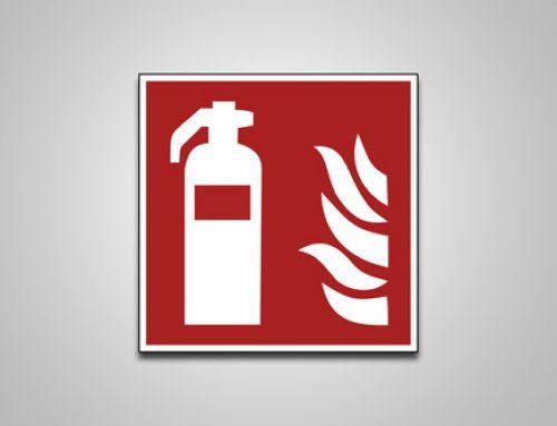 Brandmeldeschilder